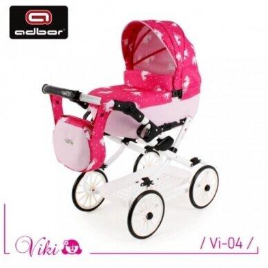 Vežimėlis lėlei VIKI 5