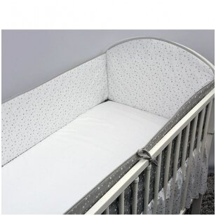 Защитные бортики на кроватку Ankras GWIAZDOZBIOR 360 cm