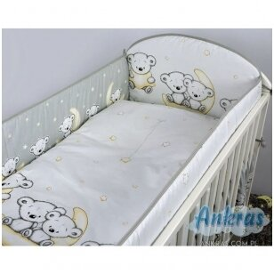 Защитные бортики на кроватку Ankras LEON 360 cm