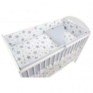 Защитные бортики на кроватку Ankras NEW STARS 360 cm