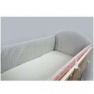 Защитные бортики на кроватку Ankras ROZETA 360 cm