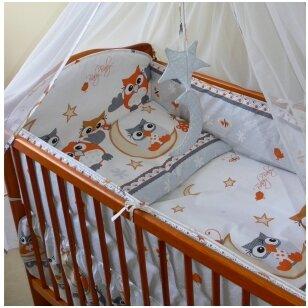 Защитные бортики на кроватку Ankras SOWY 360 cm
