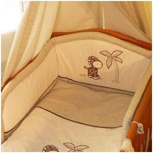 Защитные бортики на кроватку Zyrafka-360