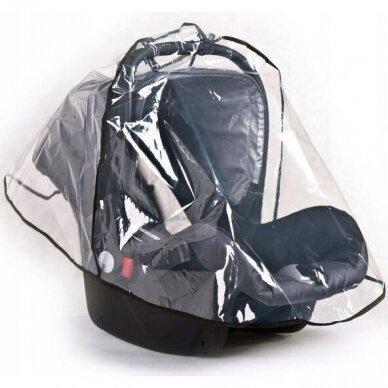 Apsauga nuo lietaus autokėdutei-nešioklei