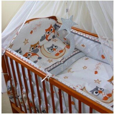 Apsaugėlė lovytei- Ankras SOWY 360 cm