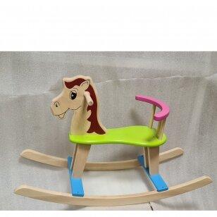 Лошадка-качалка деревянная