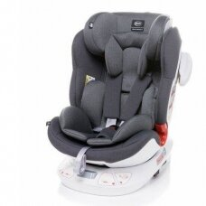Autokėdutė 4baby SPACE-FIX 360° Grey