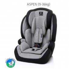 Automobilinė kėdutė 4Baby ASPEN 9-36 L.Grey