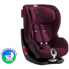 Automobilinė kėdutė BRITAX  KING II LS BLACK SERIES Burgundy Red ZR SB