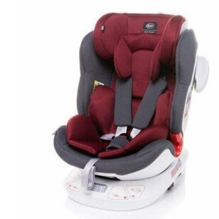 Автокресло 4Baby SPACE-FIX 360° Red