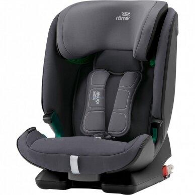 Automobilinė kėdutė BRITAX ADVANSAFIX M i-SIZE Storm Grey