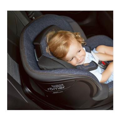 Automobilinė kėdutė BRITAX DUALFIX M i-SIZE Grey Marble ZS SB 11