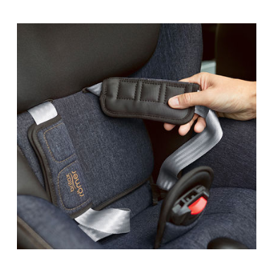 Automobilinė kėdutė BRITAX DUALFIX M i-SIZE Grey Marble ZS SB 8