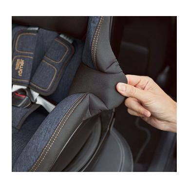 Automobilinė kėdutė BRITAX DUALFIX M i-SIZE Grey Marble ZS SB 9