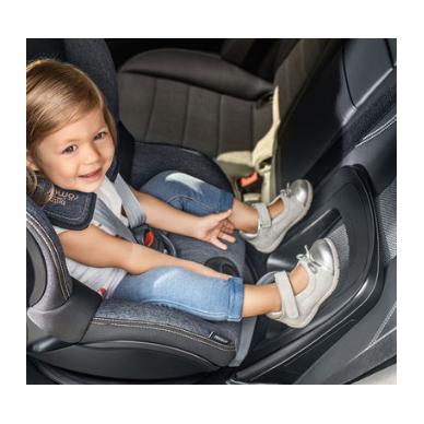 Automobilinė kėdutė BRITAX DUALFIX M i-SIZE Grey Marble ZS SB 10