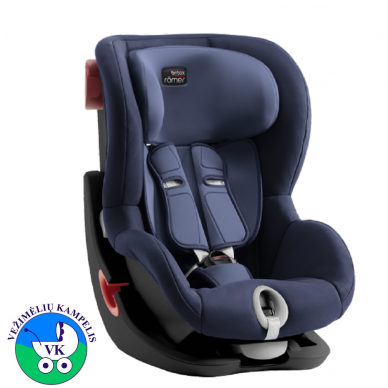 Automobilinė kėdutė BRITAX  KING II BLACK SERIES-Moonlight Blue ZR SB