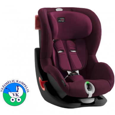 Автомобильное кресло BRITAX  KING II LS BLACK SERIES Burgundy Red ZR SB