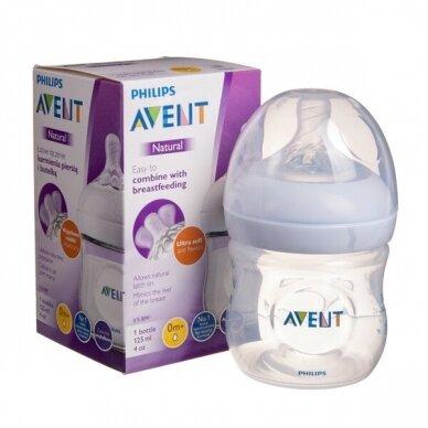 Avent buteliukas Natural 125 ml, SCF030/17
