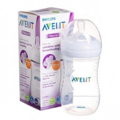 Avent buteliukas Natural 260 ml, SCF033/17