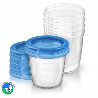 Avent Контейнер для хранения грудного молока SCF619/05