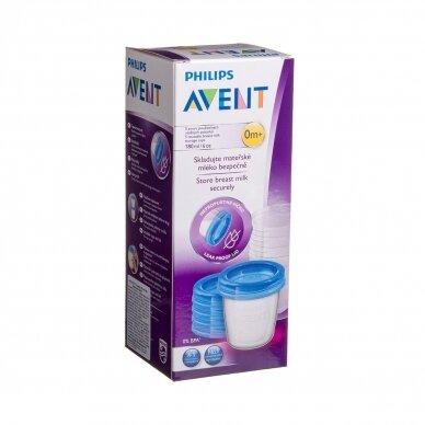 Avent Indeliai su dangteliais motinos pieno laikymui SCF619/05 2
