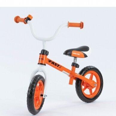 Balansinis dviratukas BabyMix UR-WB-10 Orange 2