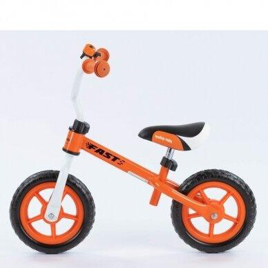 Balansinis dviratukas BabyMix UR-WB-10 Orange