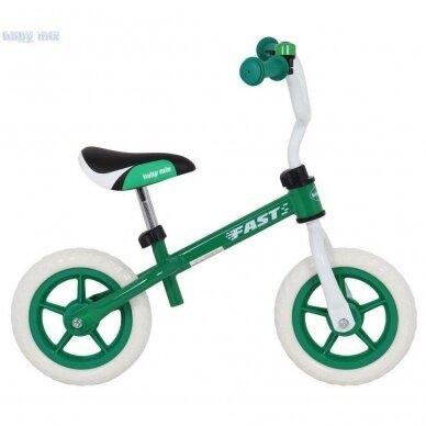 Balansinis dviratukas BabyMix UR-WB-10 Green 2