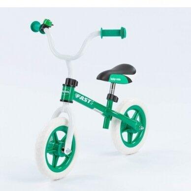 Balansinis dviratukas BabyMix UR-WB-10 Green 3