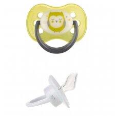 Čiulptukas Canpol 22/500 Night Dreams silikoninis, ortodontinis