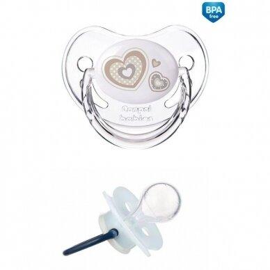 Čiulptukas Canpol 22/563 Newborn Baby silikoninis, apvalus