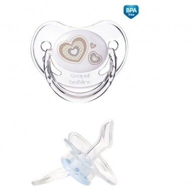 Čiulptukas Canpol  22/566 Newborn silikoninis, ortodontinis