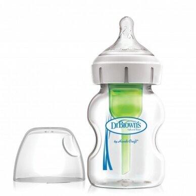 Dr Brown's plataus kaklelio buteliukas OPTIONS+ 150 ml