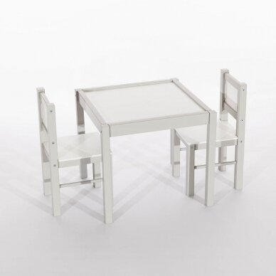 Drewex Staliukas su 2 kėdutėmis