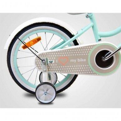 """Велосипед HEART BIKE-14"""" Mint 4"""