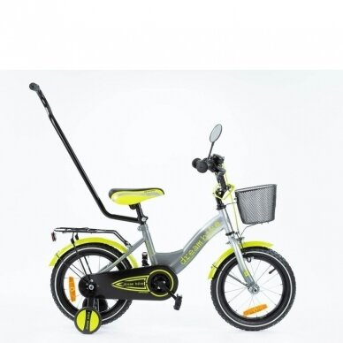 Велосмпед TOMABIKE PLAT-XX-1401-Green 3