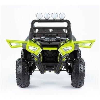 Elektromobilis MONSTER 4WD Green su distanciniu valdymu 2