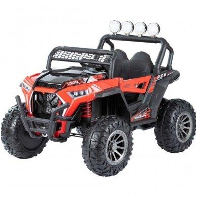 Електромобиль MONSTER 4WD Red с дистанционным управлением