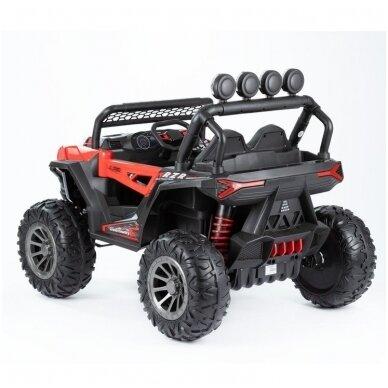 Електромобиль MONSTER 4WD Red с дистанционным управлением 2