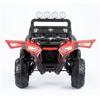 Elektromobilis MONSTER 4WD Red su distanciniu valdymu 3