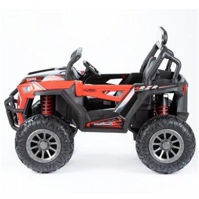 Elektromobilis MONSTER 4WD Red su distanciniu valdymu 4