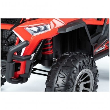 Elektromobilis MONSTER 4WD Red su distanciniu valdymu 6