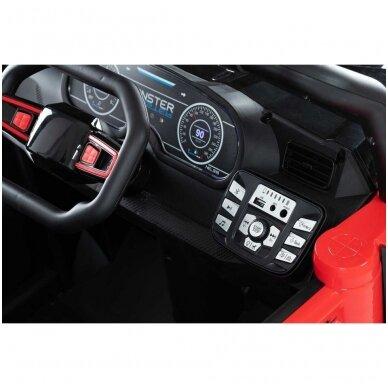 Elektromobilis MONSTER 4WD Red su distanciniu valdymu 8