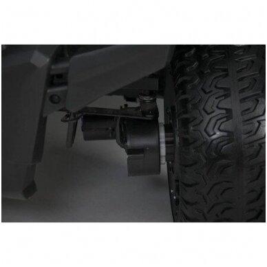 Elektromobilis WXE7988 4WD 12V White su distaciniu valdymu 3