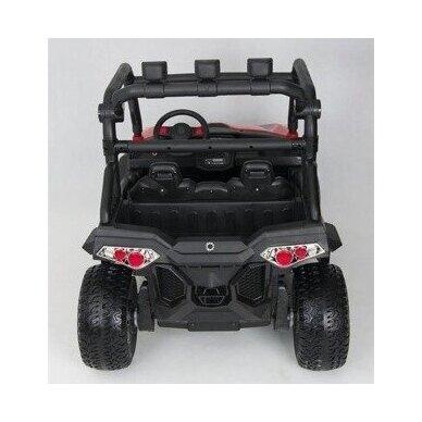 Elektromobilis WXE7988 4WD 12V White su distaciniu valdymu 6