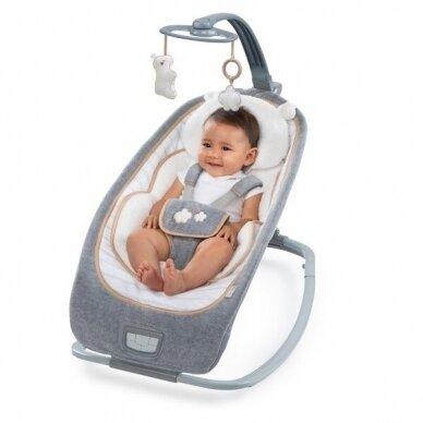 Кресло-шезлонг Bright Starts- Ingenuity Rocking Seat™ - Bella Teddy