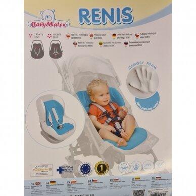 Įdėklas universalus BabyMatex RENIS Red 2