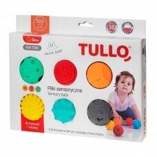 Kamuoliukai sensoriniam vystymui TULLO-462, 6 vnt