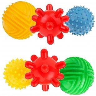 Набор сенсорных мячиков TULLO-453, 3 шт