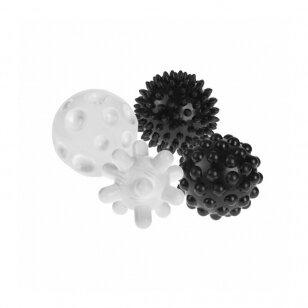 Набор сенсорных мячиков TULLO-461, 4 шт